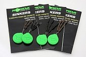 Огрузка для крючка Korda Sinkers Medium Weedy Green KSKMG